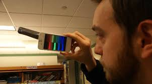 color spectrometer physics buzz turn your phone into a spectrometer for free