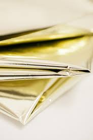gold mylar tissue paper gold mylar metallic gold mylar tissue paper 10 sheets gold