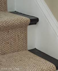 How To Cut Stair Runners by Tone On Tone I Chose A Wool Sisal Style Staircase Runner With