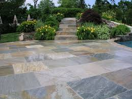 exquisite patio recycled rubber pavers and walkway step system on