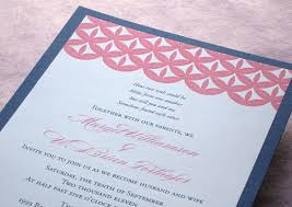 Beautiful Wedding Invitations Coral And Navy Wedding Invitations Badbrya Com