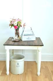 French Country Side Table - mini farmhouse bedside table french country side style tables