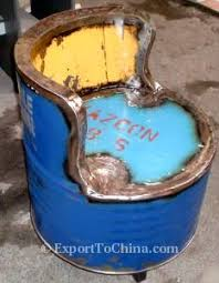 recycled oil drum chair export to china