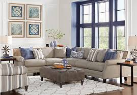 piedmont gray 3 pc sectional living room 1 977 00 find