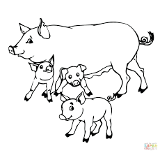 pig coloring sheets free peppa pages games picture peppa pig