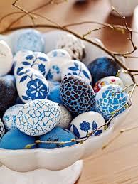 blue easter eggs pretty blue easter eggs pictures photos and images for