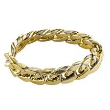 chain links bracelet images Hip hop big links gold bracelet party city
