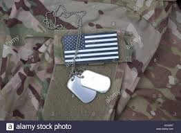 Army Uniform Flag Patch American Military Flag Patch On Stock Photos U0026 American Military