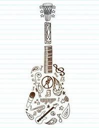 Bass Guitar Tattoo Ideas Tattoo Flash Stratocaster Guitar By Aprilsink Tats Pinterest