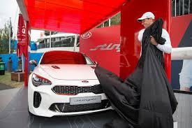 Kia Open Rafael Nadal Unveils The New Kia Stinger At The Australian Open 6
