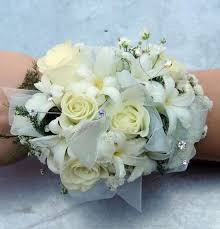 Prom Corsage And Boutonniere Snow White Corsage Kremp Com