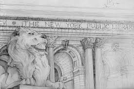 new york library bookends timely wisdom new york library lions patience and