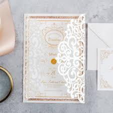 wedding invitations gold gold wedding invitations wedding invites