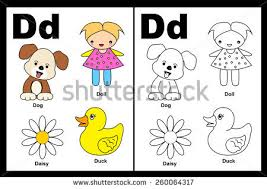 cute colorful alphabet letter stock vector 232408771