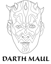 lego star wars coloring pages darth maul yahoo image