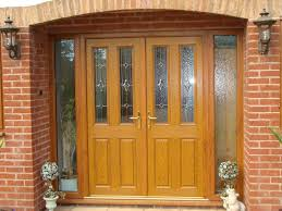 contemporary front doors with side panels ideas of front doors