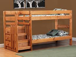 Bunk Bed Headboard Saddlebrook Staircase Pine Bunkbed My Furniture Place