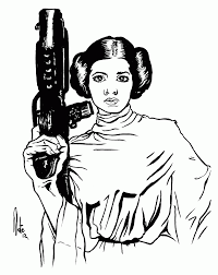 lego princess leia coloring page at coloring pages eson me