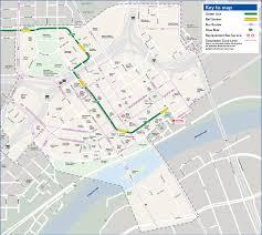Minneapolis Metro Map by 10th Street Station Metro Transit