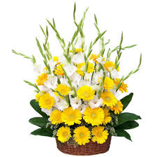 flower delivery in bangalore basket flowers in bangalore flowers