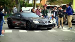 mercedes mclaren mercedes benz slr mclaren straight pipes sound 1080p hd youtube