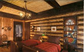 Log Cabin Interior Bedroom Luxury Faux Log Cabin Walls About My Blog