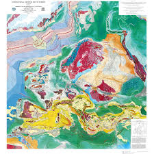 map of europe picture international tectonic map of europe ccgm cgmw