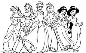 free printable disney princess coloring pages free printable
