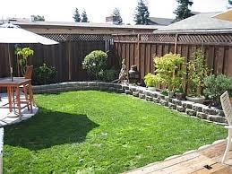 landscape design for small backyard lovely small sloped backyard