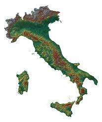 Italy France Map by Elevation Maps Of Italy France Usa Sweden And Norway Album On