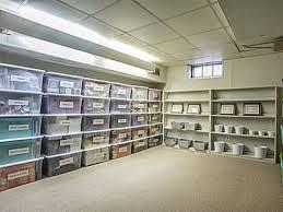 Unfinished Basement Storage Ideas Basement Storage 1 2 Husband Pinterest Basement Storage