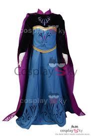 frozen elsa coronation dress child ver halloween cosplay costume
