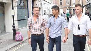 Tumblr Threesom - meet the three men in a polyamorous relationship planning to start