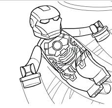 lego marvel avengers coloring pages superheroes colouring