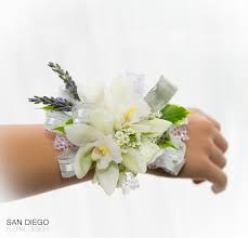 orchid corsage white mini cymbidium orchid corsage in san diego ca san diego