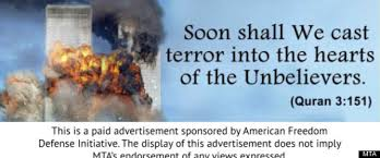Marriage Quotes Quran Anti Islam Subway Ads By Pamela Geller Feature Exploding World