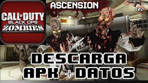 call of duty black ops zombies apk 1 0 5 descargar call of duty black ops zombies android apk datos sd