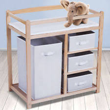 Baby Drawers With Change Table Baby Changing Tables Units With Drawers Ebay