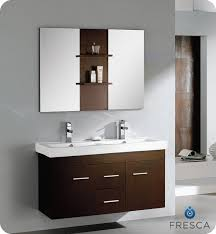 48 Double Sink Bathroom Vanity by Fresca Vilanie 48