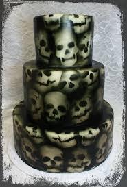 Halloween Cake Graveyard by 53 Best Top Skull Cakes Images On Pinterest Skull Cakes