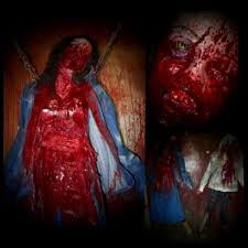 halloween gory props bloody gorey bodies creepy collection haunted house u0026 halloween