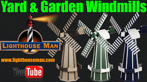 decorative lighthouses for in home use decorative ornamental windmills for your yard or garden youtube