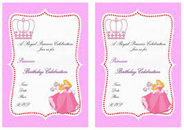 princess party printable invitations u0026 labels