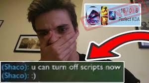 Script Meme - je me fais ban pour script même un allié m a report youtube