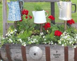 raised coffee pot planters for the junk garden hometalk