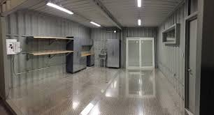 image result for using shipping container as a garage tiny