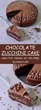 chocolate zucchini cake vegan gluten free oil free recipe