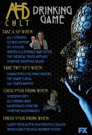 halloween drinking games ahs cult drinking game americanhorrorstory