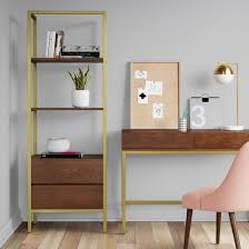Bookcase With Drawers 68