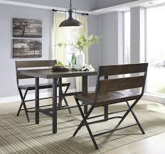 black counter height table set 87 most skookum dining room table height counter set with bench